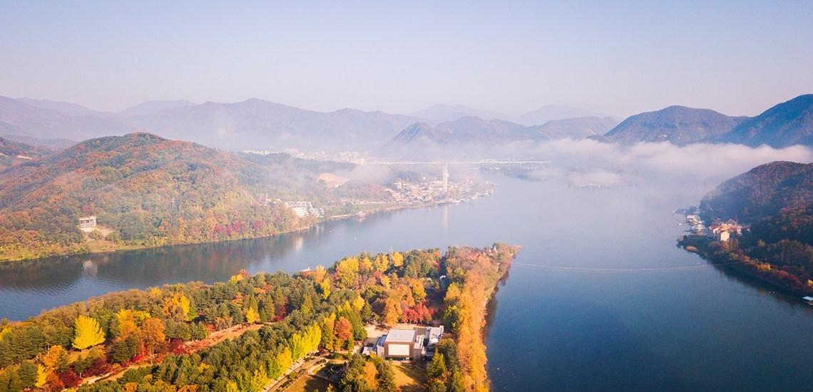 เที่ยวเกาะนามิ ณ เกาหลีใต้